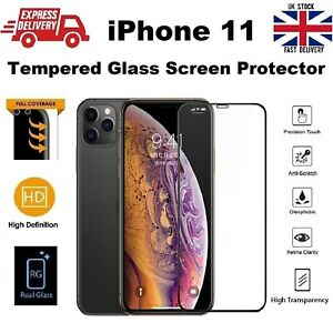 3D Rounded Shatter Proof REAL Tempered Glass Screen Protector for iPhone 11