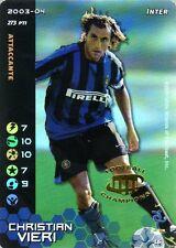 FOOTBALL CHAMPIONS 2003-04 Christian Vieri L6 Inter LEGA ITA WIZARD