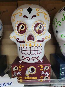Washington Redskins Football team Sugar Skull Statue NFL NIB