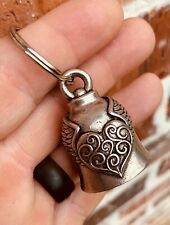 Heart Wing Bell Of Good Luck gift fortune pet keychain love friendship dog cat