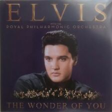 ELVIS & THE ROYAL PHILHARMONIC - THE WONDER OF YOU -NEW ONE TRACK CD PROMO