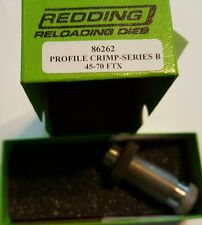 86262 REDDING 45-70 FTX PROFILE CRIMP DIE - BRAND NEW - FREE SHIP