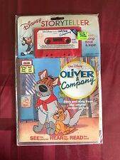 Disney Oliver and Company Read-Along Golden Books Cassette