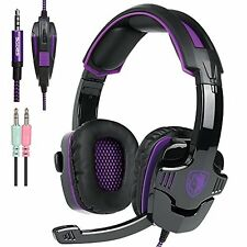 Sades SA930 Hifi Stereo Surround Pro Gaming Headphone Headset w/ Mic For PS4 PC