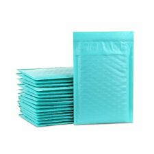 Ucgou 4x8 Inch Teal Poly Bubble Mailer Envelopes Bags Self Seal Padded Envelo.
