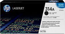 TONER ORIGINALE HP q7560a per Laserjet 3000 2700 BLACK NERO 314a NUOVO B