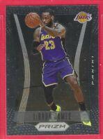 2020-21 Prizm LeBron James Throwback 2012-13 Retro Insert #6 Los Angeles Lakers