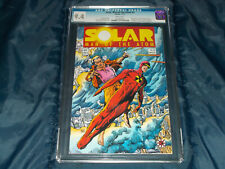 Solar, Man of the Atom  #3 ~ CGC 9.4 NM (Valiant - 11/91) 1st Harada, Harbinger!