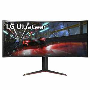 "LG 38GN950-B 3840 x 1600 38"" Curved G-Sync IPS Gaming Monitor Retail Box New"
