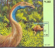 New Zealand-Dinosaur min sheet mnh