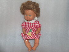 RARE VINTAGE Ernst Wehncke N.1866 BABY GIRL RUBBER DOLL, MADE IN GERMANY, MARKED