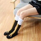Funny 3D Chicken High Socks Cartoon Animals Thigh Stockings Creative Womens Mens