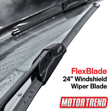 "Motor Trend Car Wiper Blades Size 24"" All Season Bracketless Car Direct Connect"