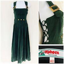 Authentic Vintage Dress Size 12 Pinafore Drindl Style Oktoberfest Alpine German