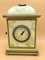 Vintage Von Pok And Chang Mantel Clock With Hidden Compartment