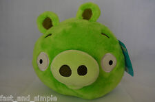 NEW Angry Birds Deluxe 8in. Plush Toy Green Pig (Minion Pig) OFFICIALLY LICENSED