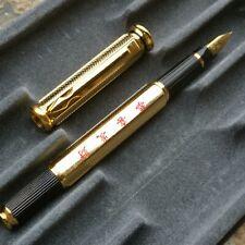 Old Stock Hero Fountain Pen F Nib Hexagonal Cap 34g(Weight)