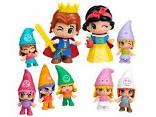 Pinypon Snow white y los 7 Dwarfs Pack with all the Dolls tale