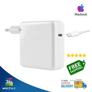 """Alimentatore Caricabatterie Caricatore Apple MacBook Pro Air Retina 12"""" 13"""" 61W"""