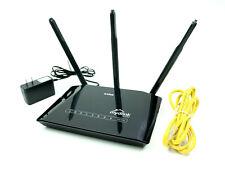 D-LINK DIR-619L N 300 High Power Cloud Wireless Black Router Long Range Antenna