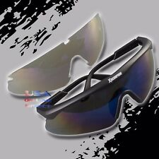 47f316103c4 Light Weight Scratch-Resistant Safety Shooting Target Protective Glasses  Lenses