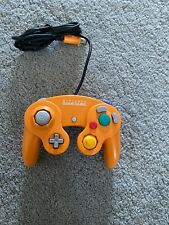 Genuine Nintendo GameCube Spice Orange Controller.   DOL-003