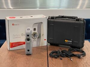 Artec Eva 3D Scanner, with original box, case, cables.  Great condition.