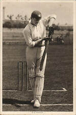 Cricket. England & Worcestershire. R.E.Foster, England & Corinthians Footballer.