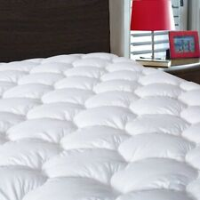 Waterproof Mattress Pad Cover Queen Size Breathable Soft Fluffy