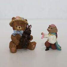 Marjorie Sarnat Easter Figurine & Hallmark Merry Miniatures Prince Charming