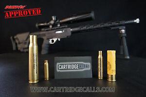 (4) .50 BMG Disabled Veteran Made Cartridge Calls Predator Coyote Bobcat Fox