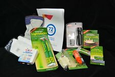 Survival kit for 2 persons basic,72 hours emergency, water, food ration 34 items