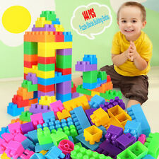 144Pcs Plastic Puzzle Building Blocks Bricks Children Kids Educational Toy Gift