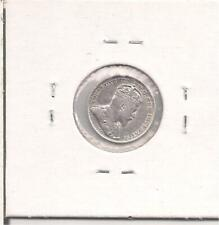 1910 Pointed Leaves. VF. Canada 5 Cents Silver Coin, King Edward Vll.