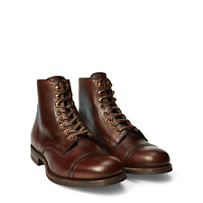 RRL Ralph Lauren Livingstone Leather Boots NEW Made in England Vintage Style