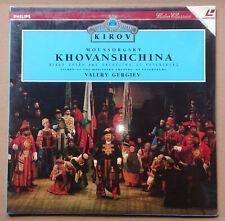 Khovanshchina - Moussorgsky - Oper in 5 Akten - Kirov Orchestra - PAL LaserDisc