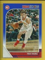 Trae Young 2019-20 Panini NBA Hoops BLUE Parallel Card #1 Oklahoma Atlanta Hawks