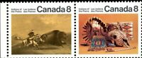 Canada Stamp #563b - Plains Indians (1972) 2x8¢