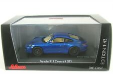 Porsche 911 (991) carrera 4 GTS Año Fabricación 2014 azul 1 43 Schuco
