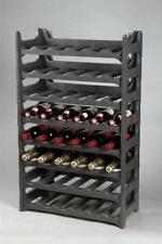 Flaschenregal / Weinregal 6-teilig für 36 Flaschen anthrazit