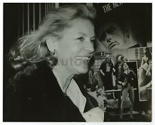 Lauren Bacall - Vintage 8x10 by Peter Warrack - Previously Unpublished