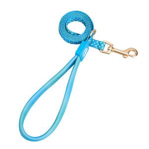 Dog Chest Leader Rope Training Nylon Adjustable Colorful Leash Collar Harness
