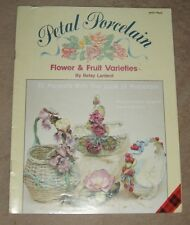 Petal Porcelain Flower & Fruit Varieties Leaflet-Betsy Lardent Plaid MPN 8477