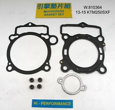 KTM SXF 250 KTM250 SXF KTM 250 SX-F 2013 - 2015 Top End Gasket Kit