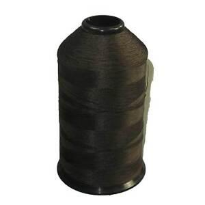 Dark Brown - Premium Bonded Nylon Sewing Thread #69 Tex 70 8oz 3000 yards