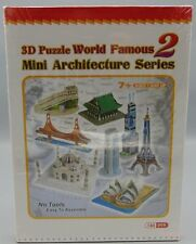 SEALED 3D Puzzle World Famous 2 Mini Architecture Series 144 Pieces