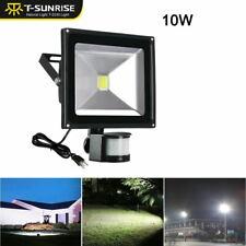 10W LED Flood Light PIR Motion Sensor Yard Spotlight  Spot Security Lamp 6000K