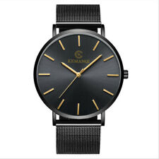 quartz Watch Fashion Steel Metal Men's Fashionable Ultra-thin Automatic casual