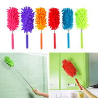 78cm Magic Extendable Microfiber Cleaning Duster Washable Long-Reach Brush SH US