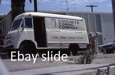 Orig 1967 35mm Kodachrome slide - Road crew with workvan in Los Angeles area